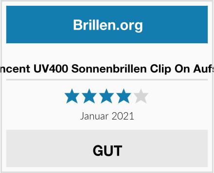 Aroncent UV400 Sonnenbrillen Clip On Aufsatz Test