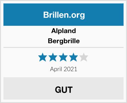Alpland Bergbrille Test