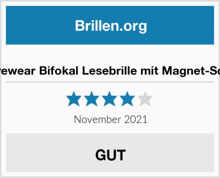 magic-eyewear Bifokal Lesebrille mit Magnet-Sonnenclip Test