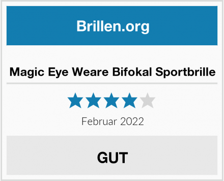 Magic Eye Weare Bifokal Sportbrille Test