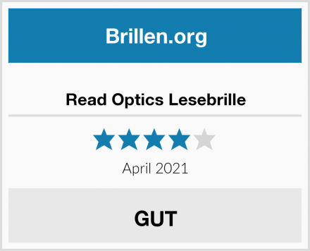 Read Optics Lesebrille Test