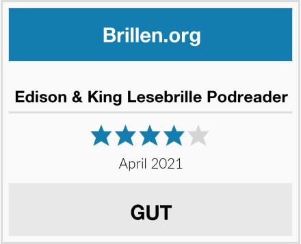 Edison & King Lesebrille Podreader Test