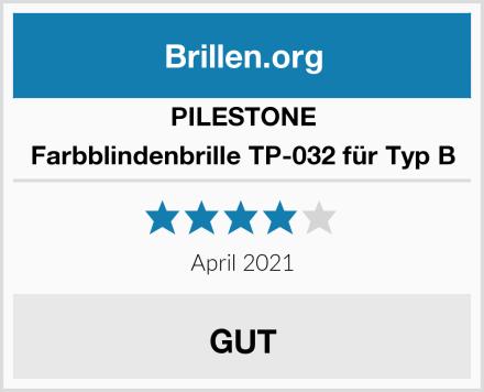 PILESTONE Farbblindenbrille TP-032 für Typ B Test
