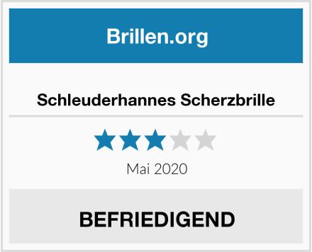No Name Schleuderhannes Scherzbrille Test