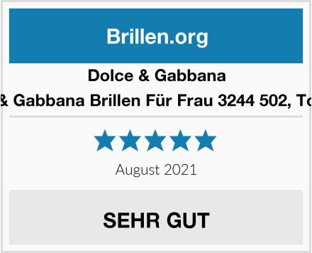 Dolce & Gabbana Dolce & Gabbana Brillen Für Frau 3244 502, Tortoise  Test