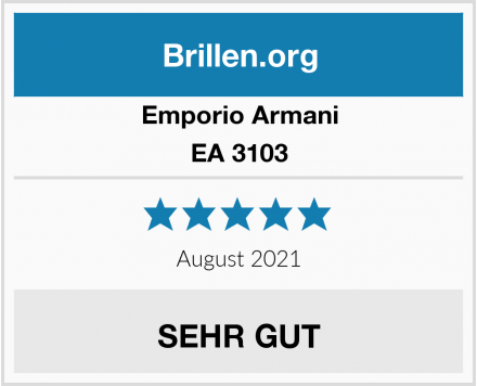 Emporio Armani EA 3103 Test