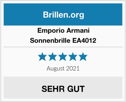 Emporio Armani Sonnenbrille EA4012 Test