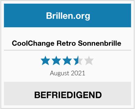 No Name CoolChange Retro Sonnenbrille  Test
