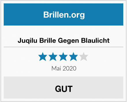 No Name Juqilu Brille Gegen Blaulicht Test