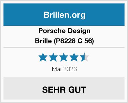Porsche Design Brille (P8228 C 56) Test