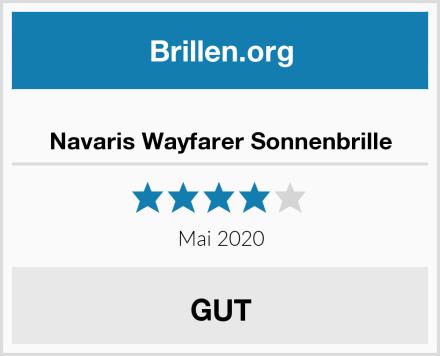 Navaris Wayfarer Sonnenbrille Test