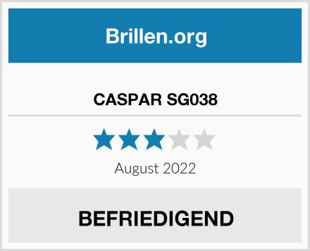 CASPAR SG038 Test