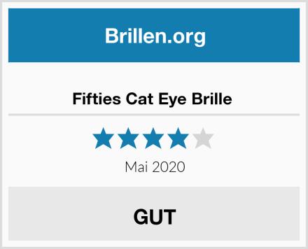 Fifties Cat Eye Brille  Test