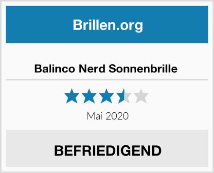 Balinco Nerd Sonnenbrille  Test