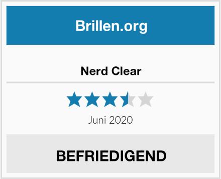 Nerd Clear Test