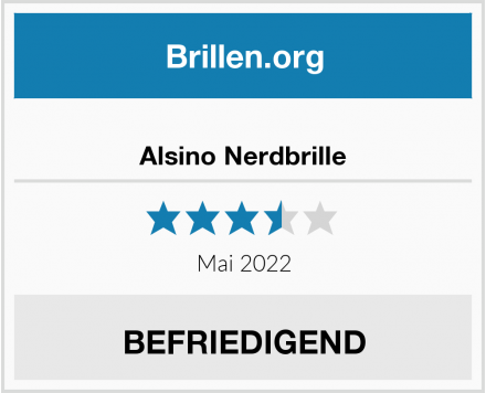 No Name Alsino Nerdbrille Test