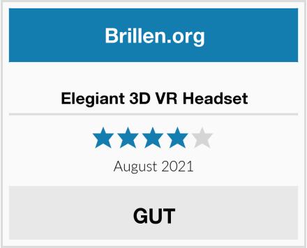 No Name Elegiant 3D VR Headset Test
