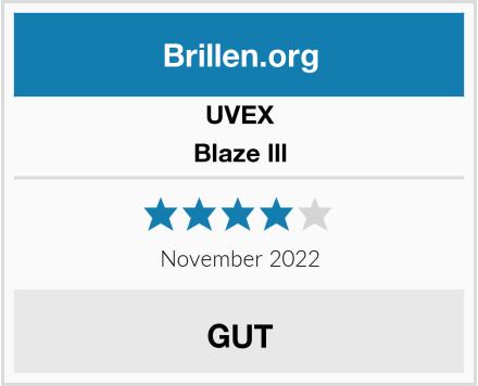 UVEX Blaze lll Test