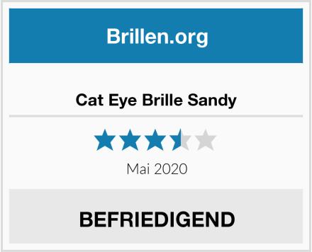 Cat Eye Brille Sandy Test