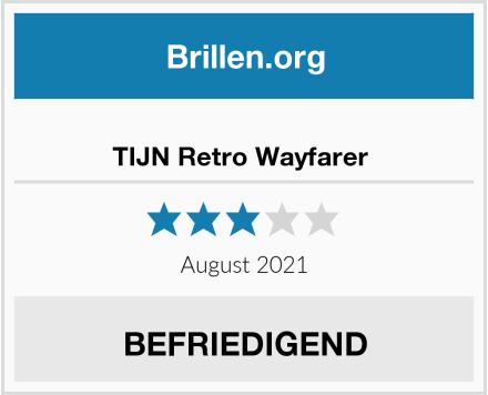 TIJN Retro Wayfarer  Test