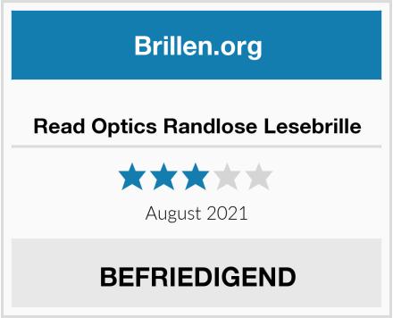 Read Optics Randlose Lesebrille Test