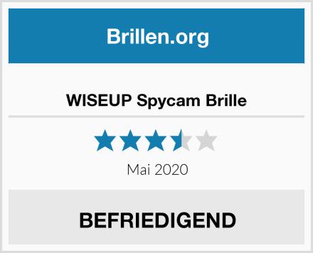WISEUP Spycam Brille Test