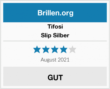 Tifosi Slip Silber Test