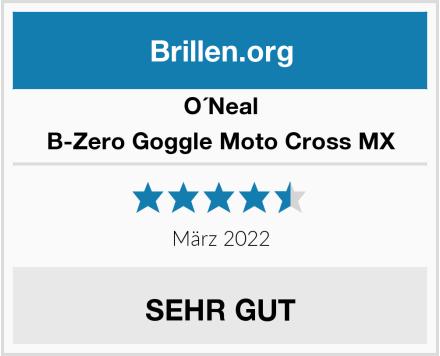 O'Neal B-Zero Goggle Moto Cross MX Test