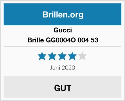 Gucci Brille GG0004O 004 53 Test