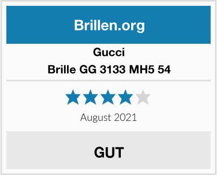 Gucci Brille GG 3133 MH5 54 Test