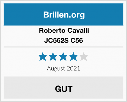 Roberto Cavalli JC562S C56 Test