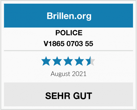 POLICE V1865 0703 55 Test