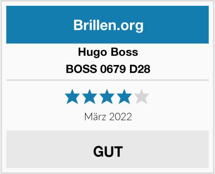 Hugo Boss BOSS 0679 D28 Test