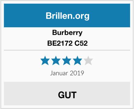 Burberry BE2172 C52 Test