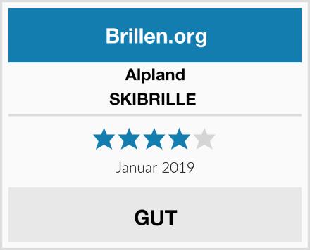 Alpland SKIBRILLE  Test