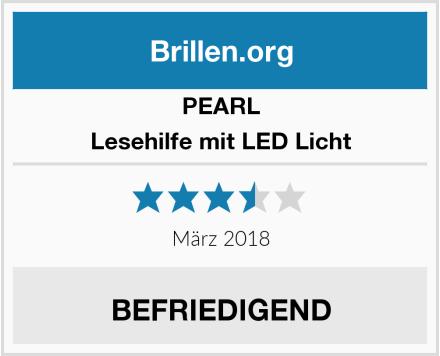 PEARL Lesehilfe mit LED Licht Test
