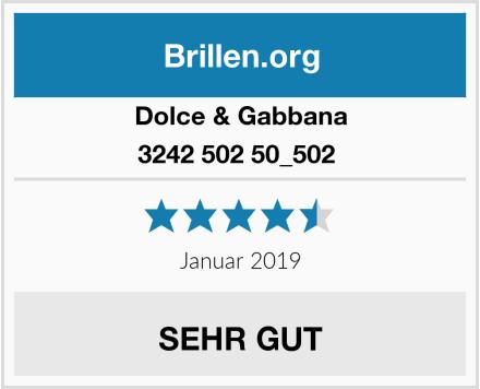 Dolce & Gabbana 3242 502 50_502  Test