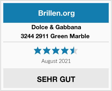 Dolce & Gabbana 3244 2911 Green Marble  Test