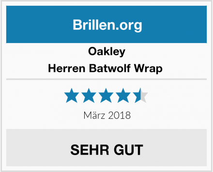 Oakley Herren Batwolf Wrap  Test