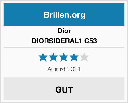 Dior DIORSIDERAL1 C53 Test
