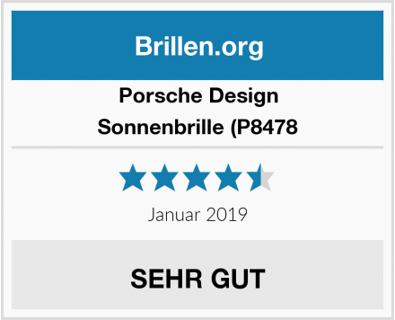 Porsche Design Sonnenbrille (P8478 Test