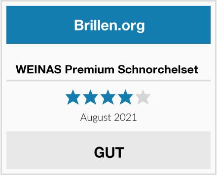 No Name WEINAS Premium Schnorchelset  Test