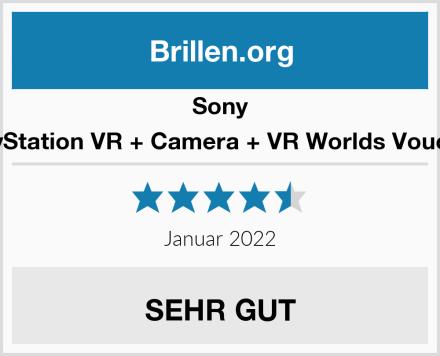 Sony PlayStation VR + Camera + VR Worlds Voucher Test