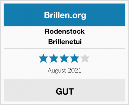 Rodenstock Brillenetui Test