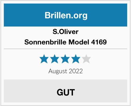 S.Oliver Sonnenbrille Model 4169 Test