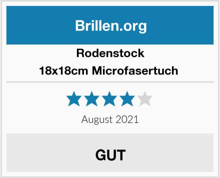 Rodenstock 18x18cm Microfasertuch  Test