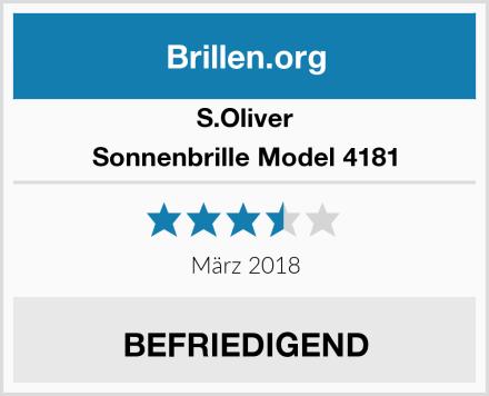 S.Oliver Sonnenbrille Model 4181 Test