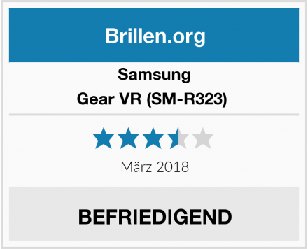 Samsung Gear VR (SM-R323)  Test