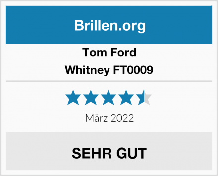 Tom Ford Whitney FT0009 Test