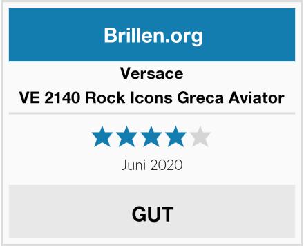 Versace VE 2140 Rock Icons Greca Aviator Test